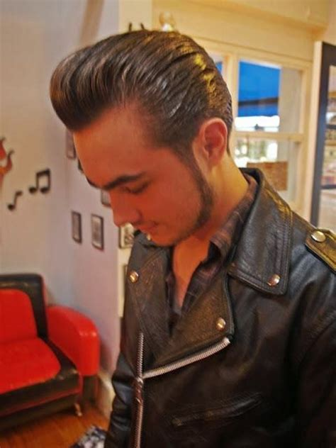 1950 s men s greaser hairstyles mens craze 25 greaser hairstyles for men from 1950 s hairstylec