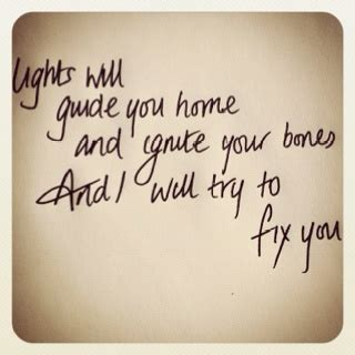 fix you coldplay testo 25 best ideas about coldplay fix you lyrics on