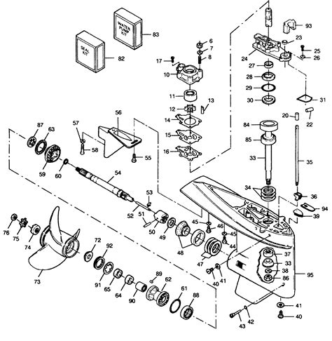 force l drive boat motors mercury force 120 h p 1991 l drive 120ld91d
