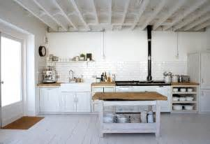 Rustic White Kitchen Cabinets White Rustic Kitchen Panda S House