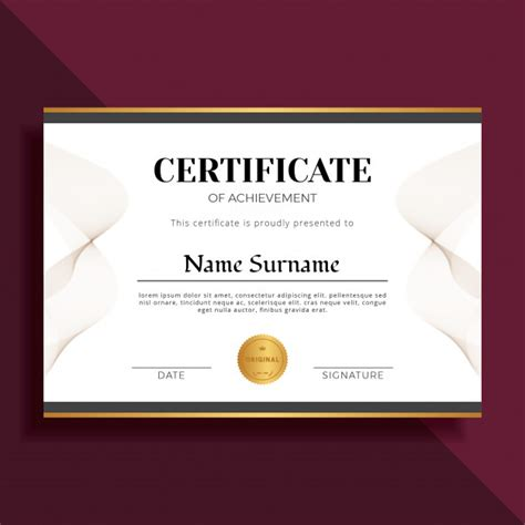 free professional certificate templates professional certificate template choice image