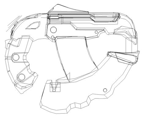 Spesial Kaos Print Umakuka Snipper halo 4 weapon templates halo costume and prop maker
