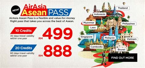 airasia asean pass airasia promotions lcct com my