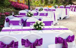 Cheap White Table Linens What Should I Consider When Planning A Wedding With