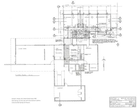 the wexler house plan images see photos of don gardner donald wexler home plans house design plans