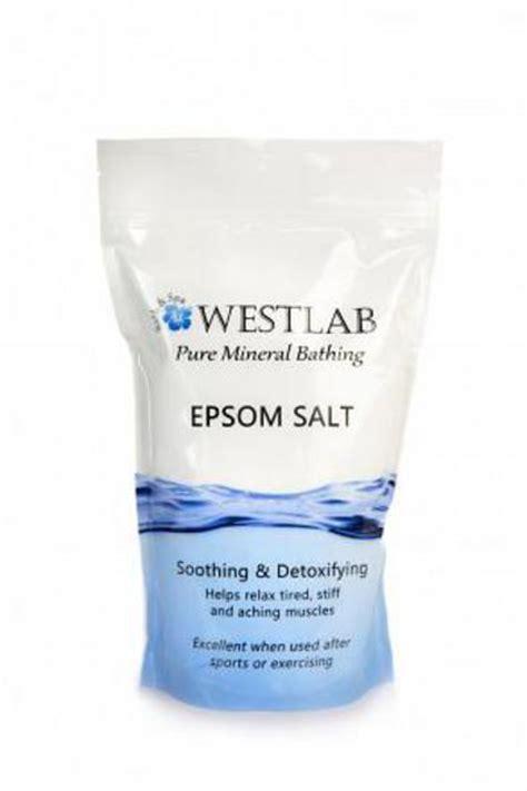 amazon com magnesium bath crystals 1 75 up to 14 baths bath epsom salts bath in 1kg pouch from westlab