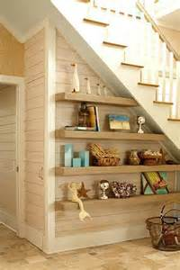 stairs storage shelves floating shelves stairs