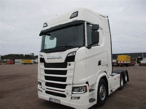 used scania s580 topline leveringsklar tractor units