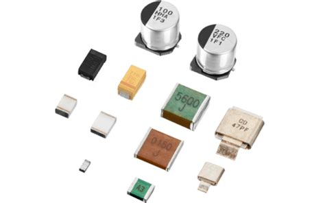 surface mounted capacitors capacitors from cornell dubilier cde