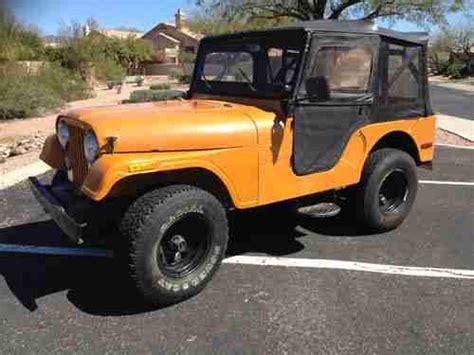 1972 Jeep Cj5 For Sale Purchase Used 1972 Cj5 Arizona Jeep Unrestored Original