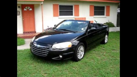 2004 chrysler convertible 2004 chrysler sebring touring convertible 83 000 low