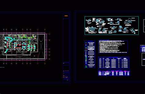 Air Conditioning Banking Agency Dwg Block  Autocad