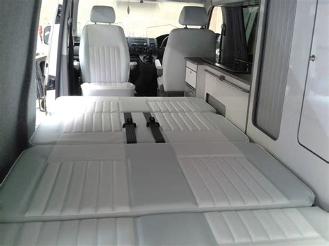 Vw T4 Seat Upholstery by Vw T4 Seats Recovered For Cer Magic Cer Conversion
