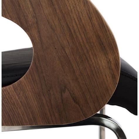 chaise design quot weng 233 quot marron