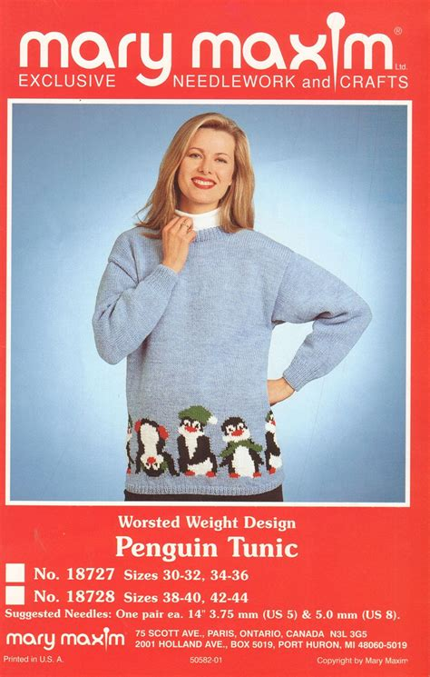 maxim penguin tunic pattern
