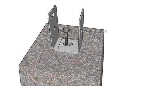 anchor  post  concrete myoutdoorplans