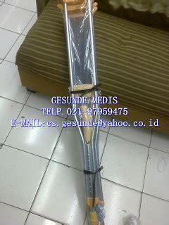 Tongkat Ketiak Crutch Kruk Murah S M L jual tongkat ketiak alumunium crutch toko medis jual