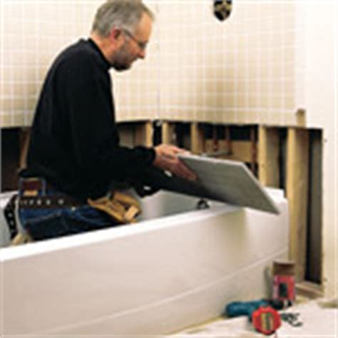 bathtubs how to remove repair or replace a bathtub diy