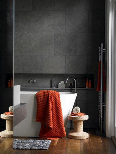 orange and grey bathroom bkkhome bangkok housing review tips guide news