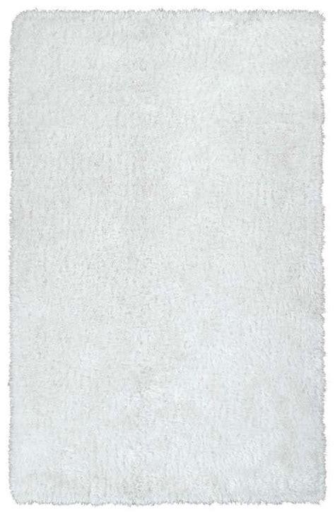 posh rugs kaleen rugs posh shag psh01 76 white area rug carpetmart