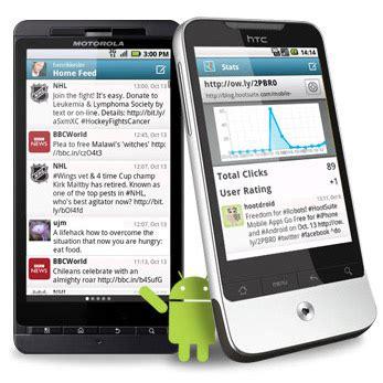 hootsuite for android new hootsuite for android flavor released