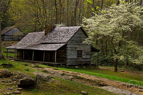 Great Smoky Mountains Cabins Bud Ogle Cabin In Roaring Fork Motor Nature Trail