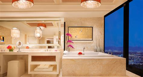 encore las vegas bathroom luxury three bedroom duplex las vegas encore resort