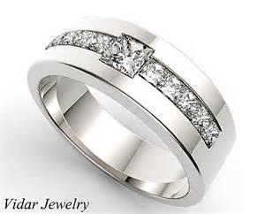 mens tungsten diamond wedding bands