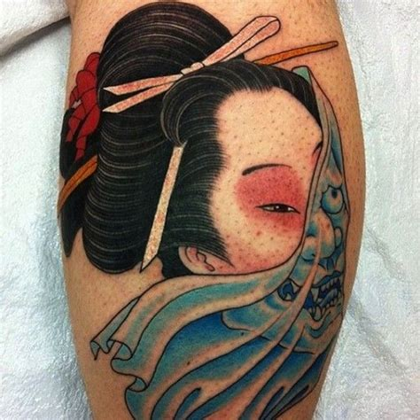 blue geisha tattoo 52 best geisha images on geisha