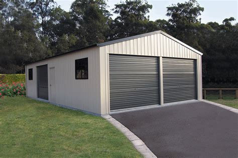 double garages  shed company call