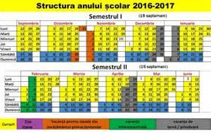 Moldova Calendã 2018 Calendar Scolar 2016 2017 Invatamant Primar Comisia