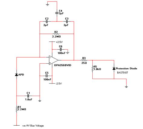 avalanche photodiode receiver avalanche photodiode receiver circuit 28 images patent us7155133 avalanche photodiode