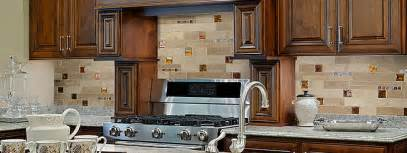 brown kitchen cabinets travertine glass backsplash tile picture cool stone backsplashes that wow