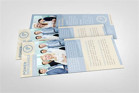 Pages App Rack Card Template by Business Rack Card Template On Behance