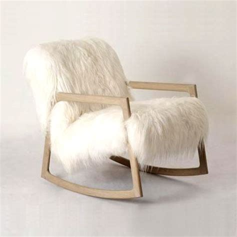 White Fur Chair by 40 Adorable Warm Fur Furniture Pieces For Fall And Winter
