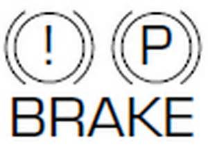 Your Brake System Warning Light Can Be Activated When Parking Brake Symbol