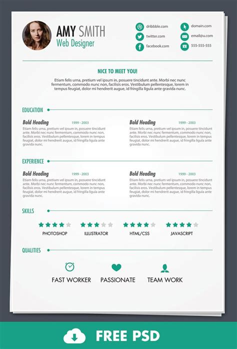 design week cv what s hot for designers this week 1 cv template cv