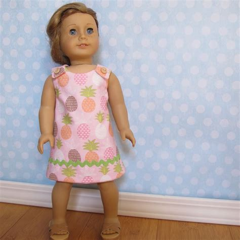 pattern a line dress toddler reversible a line dress pattern for 18 inch doll fits