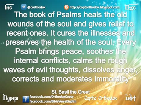 psalms of comfort and healing coptic orthodox power of psalms