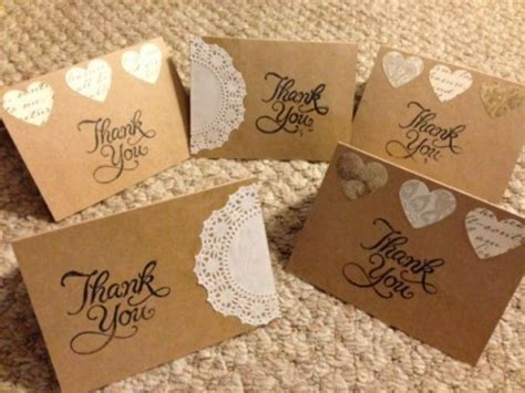 diy wedding thank you cards templates my easy diy thank you notes weddingbee photo gallery