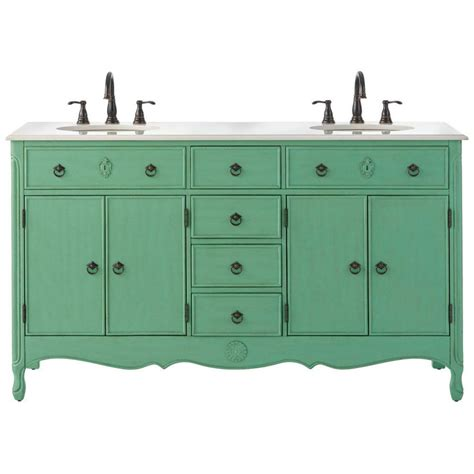 home decorators collection highland 61 in w vanity in