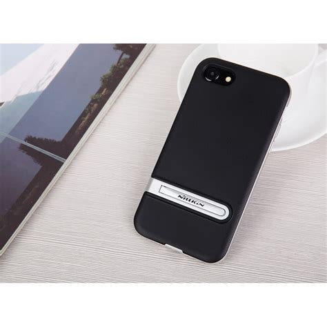 Nillkin Youth Kickstand For Iphone 7 Black nillkin youth kickstand for iphone 7 8 black jakartanotebook