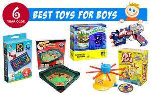 best gifts toys for 6 year old boys 2016 top christmas