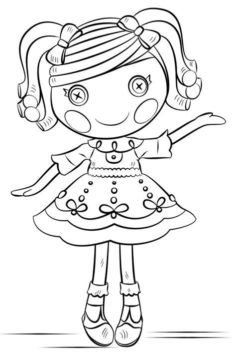 princess lalaloopsy coloring pages yasmin docinho lalaloopsy para colorir coloring pages 86