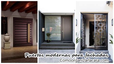 modernos dise os para puertas de fachadas decoracion - Cursos De Dise Os De Interiores