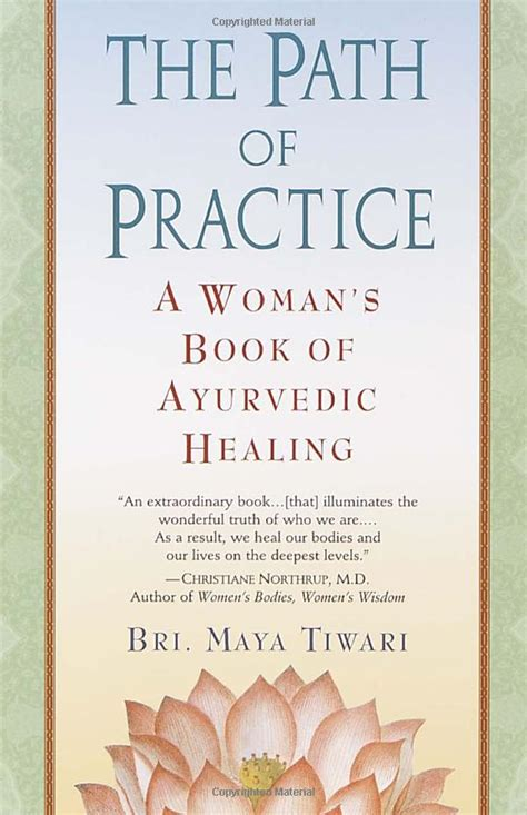 the path of the books path of practice s book of ayurvedic healing