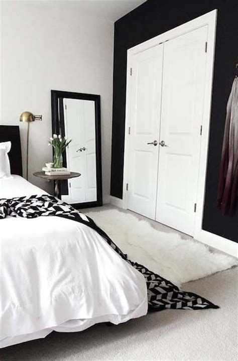 black white and bedroom decorating ideas slaapkamer makeover tips interieur insider