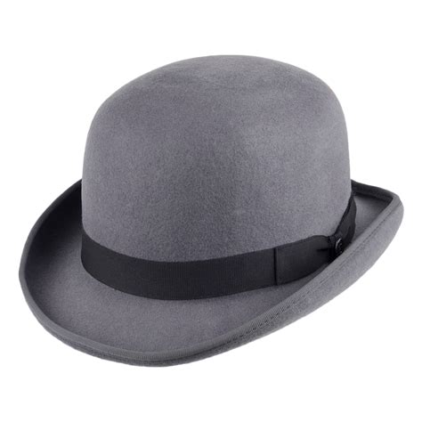 How To Make A Bowler Hat Out Of Paper - jaxon hats bowler grey from hats