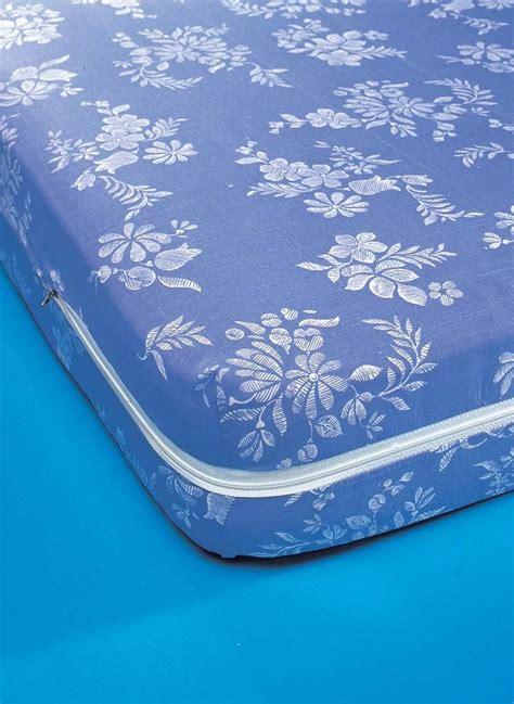 matratzen schoner matratzen schoner blau mit reissverschluss moltons