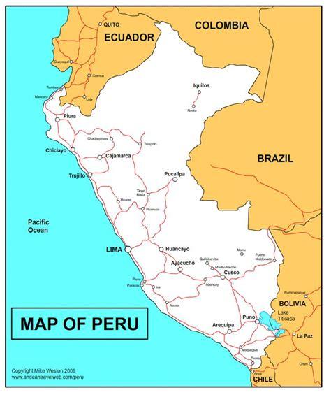 map of peru die besten 25 peru map ideen auf machu picchu
